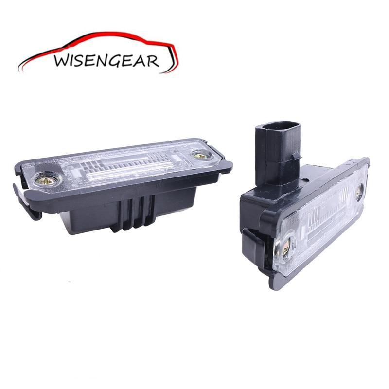 Одна пара ОЕМ номерного знака свет лампы для Фольксваген Гольф 4 5 6 Бора mk4 Passat В6 ОЕМ 1J6943021 с/5