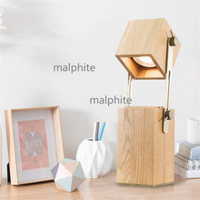 Warm Modern LED Lighting Bedroom Bedside Simple Home Decor Table Lamp Office Creative Lights Coffee Shop Novelty Desk
