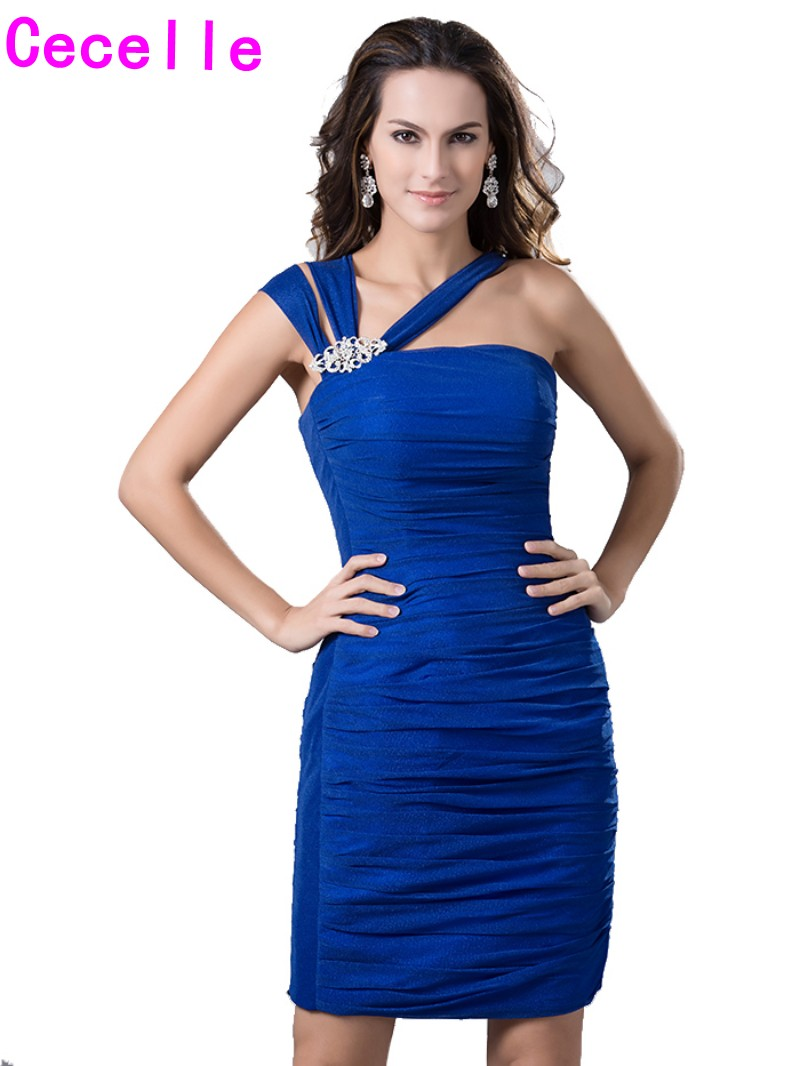 Royal blue sheath fitted short cocktail dresses with straps for royal blue sheath fitted short cocktail dresses with straps for women cocktail party dresses knee length robe de cocktail real in cocktail dresses from ombrellifo Gallery