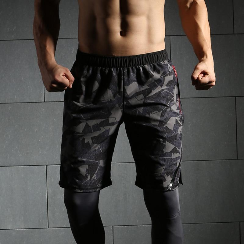 2018 neue Quick Dry Herren Camouflage shorts Männer Kurze Sport Surf Strand Kurz für Männer Sportliche Marathon Lauf Gym kurze