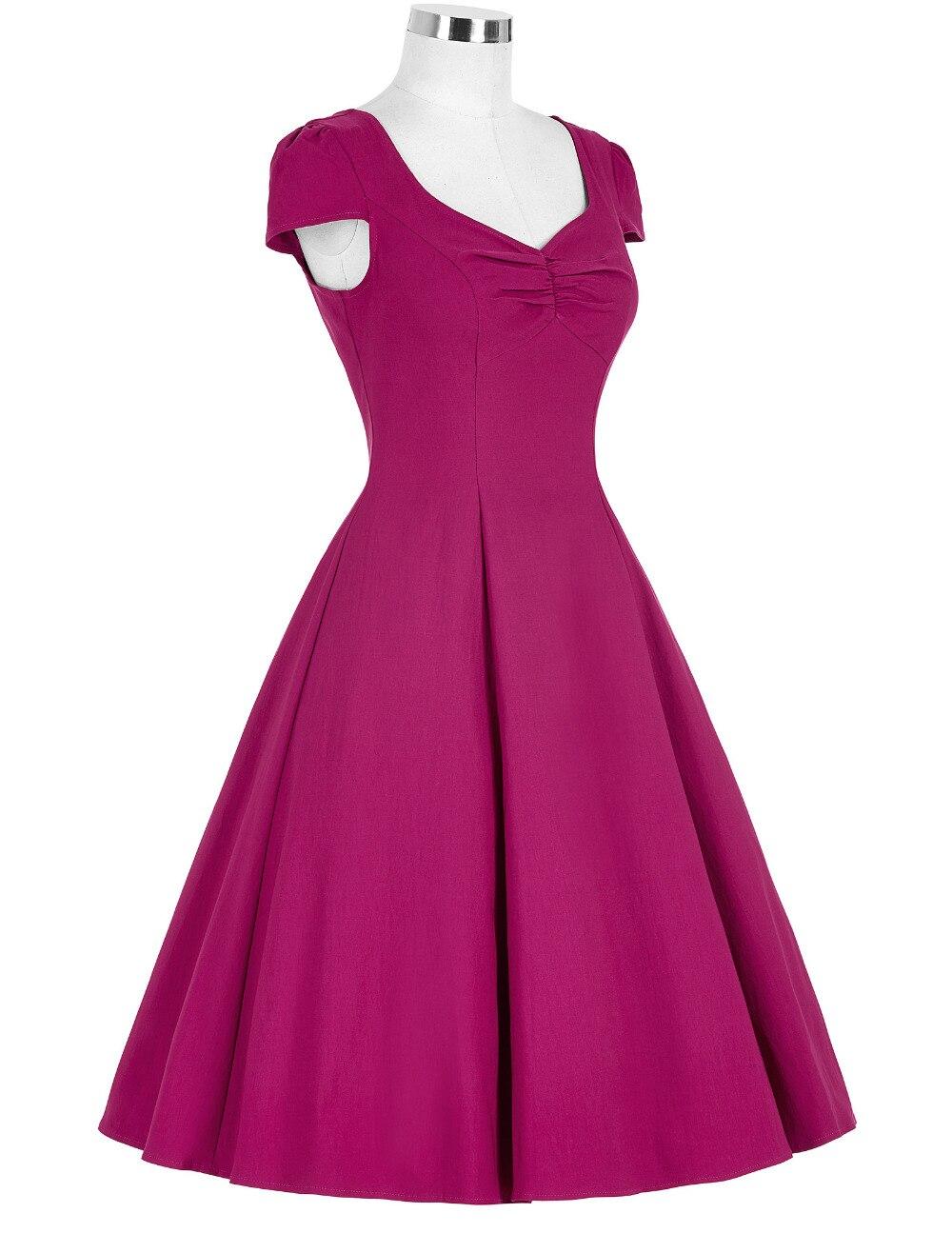 50 s Rockabilly Vestido 2016 Nueva Moda Retro de La Vendimia ...