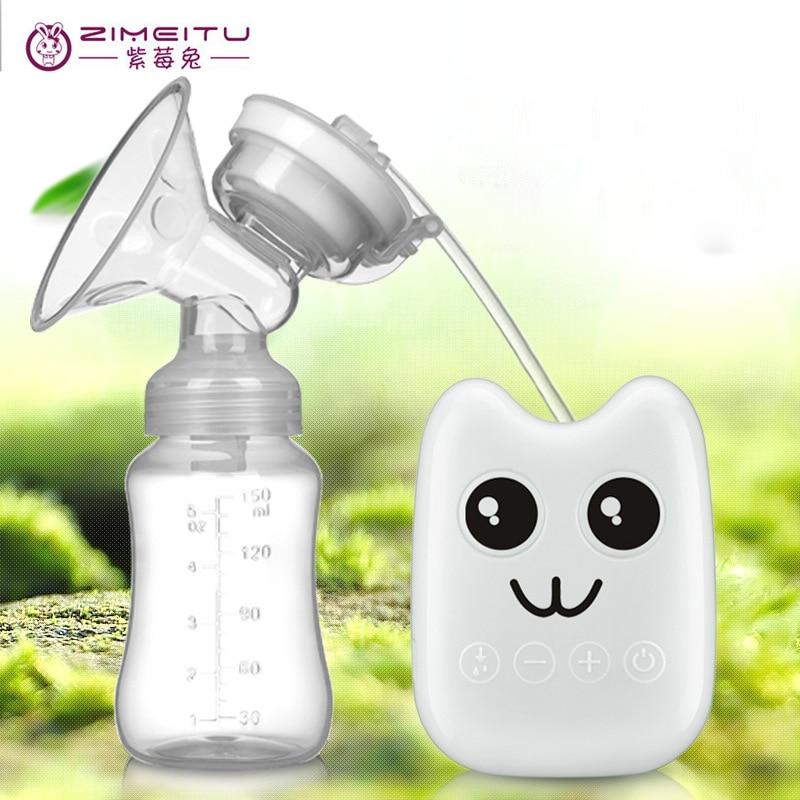 ZIMEITU USB Electric breast pump baby milk pump nipple suction nipple pump breast feeding bottle breast pump baby care