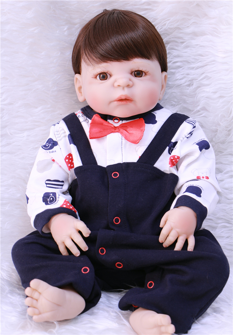 22 boy doll reborn full silicone reborn baby dolls for children gift play house toys bebe alive bonecas reborn22 boy doll reborn full silicone reborn baby dolls for children gift play house toys bebe alive bonecas reborn