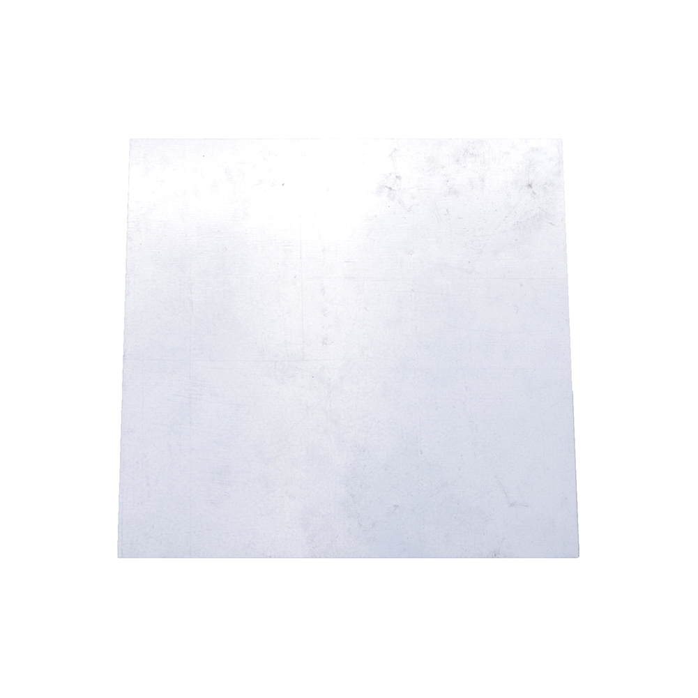 High Purity 99.9% Pure Zinc Zn Sheet Plate 100 X 100 X 0.2mm For Science