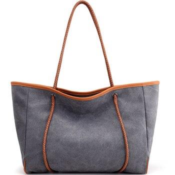 Bolso Kiple Patchwork bolsos de hombro de mujer de gran capacidad bolsos de mano de mujer de cuero PU de alta calidad bolsos de mano grandes informales