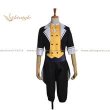 Kisstyle Fashion VOCALOID Kagamine LEN Project DIVA F Uniform COS Clothing Cosplay Costume,Customized Accepted