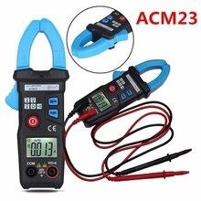 DHL 20 шт. 600 в цифровой карманный клещи мультиметр Ампер AC DC Вольтметр Ом тестер ACM23(Цвет: черный