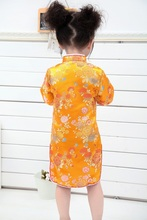 2019 Tang Suit for Kids Girls cheongsam Chinese Style Children's Day Dresses Traditional Dress Chinese Garments Classic Clothes все цены