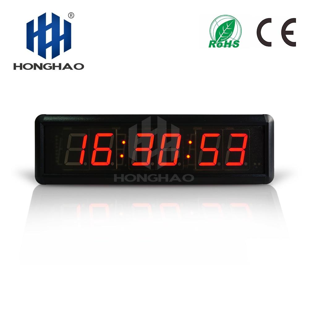 1 шт. большие 3D современные цифровые светодиодный настенные часы 24/12 час дисплей Таймер Будильник - 3