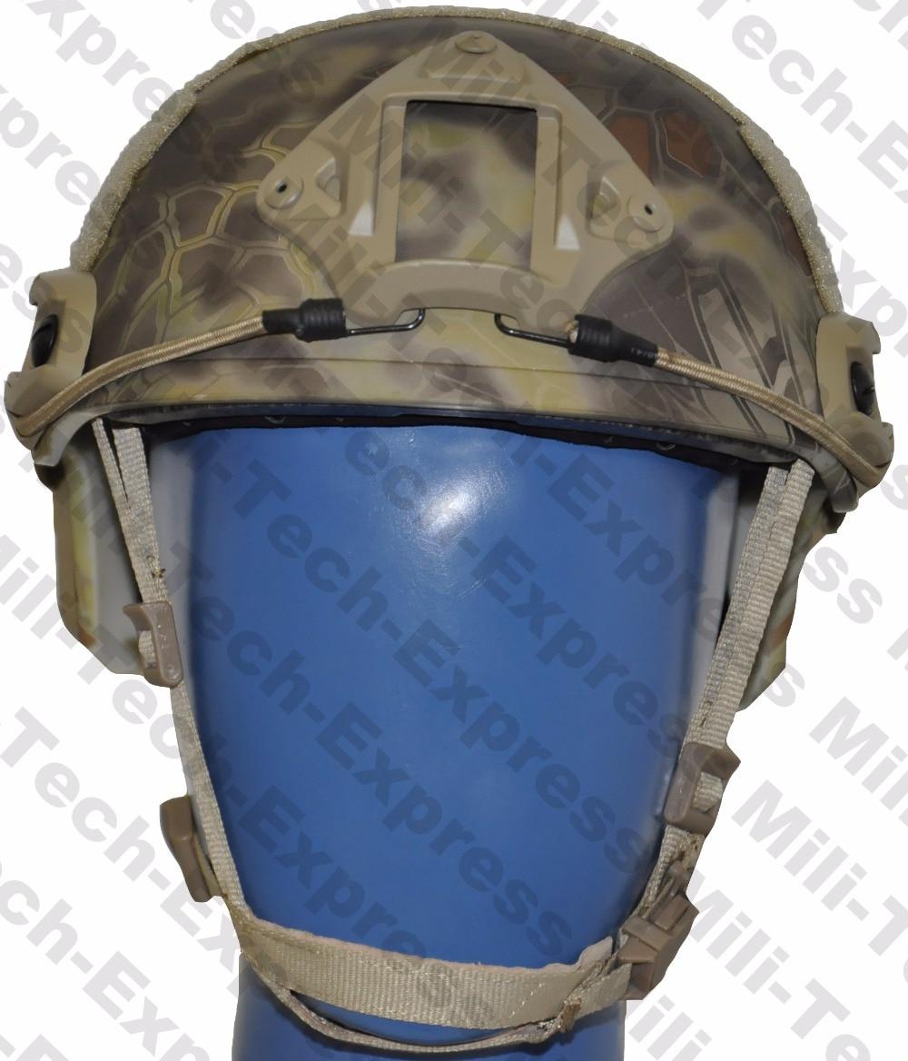 MILITECH FAST KRYPTEK FA Style Super ABS Airsoft Tactical Helmet Ops Core Style High Cut Training Helmet Ballistic Style Helmet