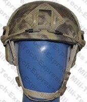 SNELLE KRYPTEK FA Stijl Super ABS Airsoft Tactical Helm/Ops Core Stijl Hoge Cut Training Helm/SNELLE Ballistische Stijl Helm