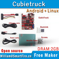 Cubietruck/Cubieboard3 allwinner A20 ДВУХЪЯДЕРНЫХ ARM Cortex-A7 2 Г DDR 8 GeMMC совет по развитию/android/linux/Open source