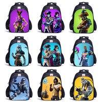 Children Bag Backpack Boy Fortni Backpack 3D Battle Royale Fortnit Game Backpack Cosplay Costume for Boys and Girls Hot Game
