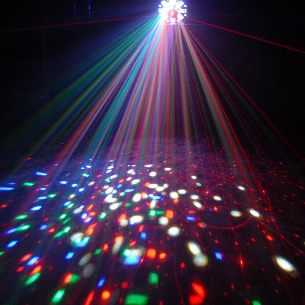 ZjRight 3 in 1 Laser / Strobe / Rotating party stage light Moon - Kommersiell belysning - Foto 6