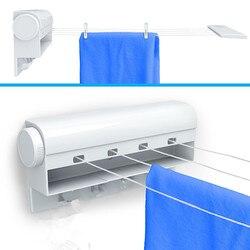 1 punid za colgador de ropa para colgar en la pared colgador de secadora de ropa de exterior