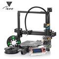 2018 Classic TEVO Tarantula I3 extrusión de aluminio 3D kit de impresora 3d Impresión 2 rollo Filament SD card Titan extrusora como regalo