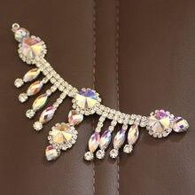 Искусственный кристалл с кисточкой для платья своими руками