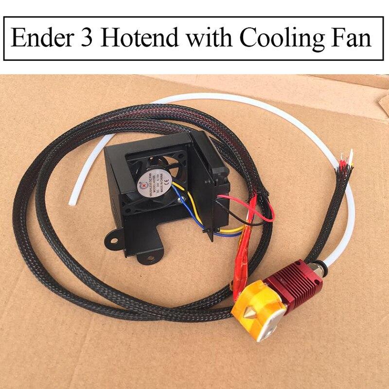 Entièrement en métal j-head MK10 Hotend CR10 Hotend Ender 3 Pro imprimante extrudeuse Kit extrémité chaude Filament 1.75MM Nozzel 3D pièces d'imprimante
