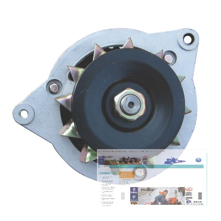 Changchai engine ZN390T for tractor, the alternator 12V 350W, part number: