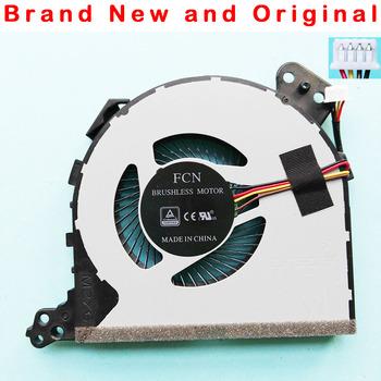 Nowy oryginalny wentylator procesora do lenovo IdeaPad 320-15 320-14ABR 520 320-15AST 320-15IAP 5000-15 14 17 wentylator chłodzący DFS541105FC0T FJD5 tanie i dobre opinie FUUJAA 2 5 W 100000 godzin 4 Linie 4PIN for lenovo 5000 ideapad 320-14IKB 520-15IKB 320-15ABR 5F10N82225