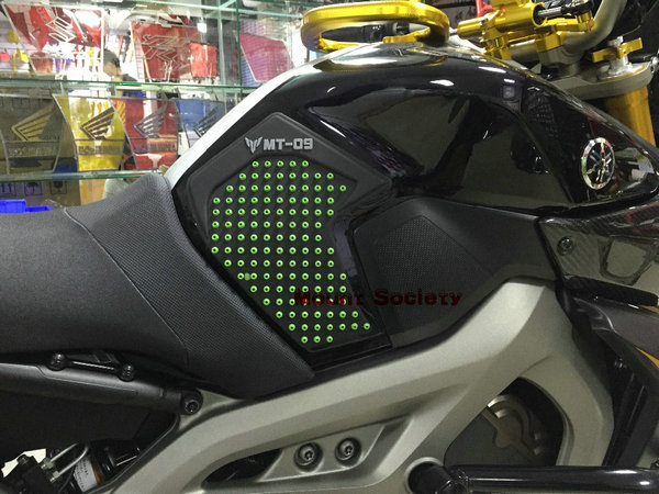 3M+silica gel Motorcycle Tank Pad Protector Sticker Decal Gas Knee Grip Tank Traction Pad For Yamaha MT-09 MT09 2014 2015 bjmoto for ktm duke 390 200 125 motorcycle tank pad protector sticker decal gas knee grip tank traction pad side