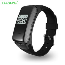 Floveme kopfhörer bluetooth smart watch für ios android smartwatch usb schrittzähler fitness herzfrequenz mp3-player armband armband