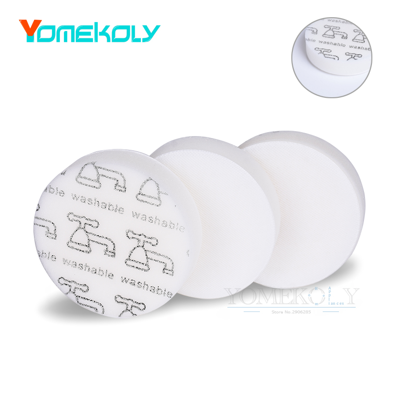 3PCS/Set Foam Filters for Hoover Linx Vacuum Fits Hoover Cordless Stick and Hand Vacuums Cleaner Replaces Part 410044001 fa13005 slovent diptube for linx printer