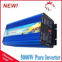 5000W(10000W Peak) Pure sinus omvormer Inverter Manufacturer 12/24v DC to 220v AC Off Gird Pure Sine Wave Inverter