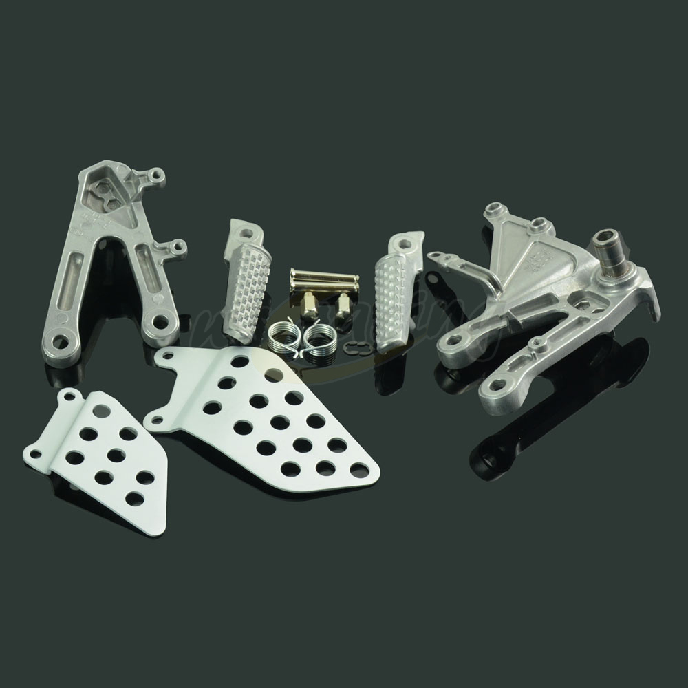 Motorcycle Footrests Front Foot Pegs Pedals Rest Footpegs For HONDA CBR1000RR CBR 1000 RR 2004-2007 04 05 06 07