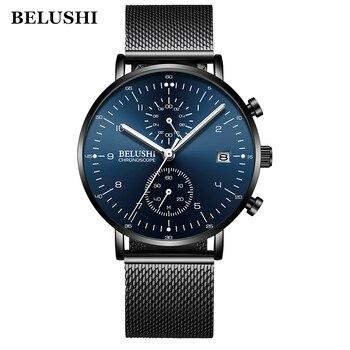 Chronograph Quartz Wrist Watch Men Watches Top Brand Luxury Famous Wristwatch For Male Clock Relogio Masculino Relog Men Hodinky
