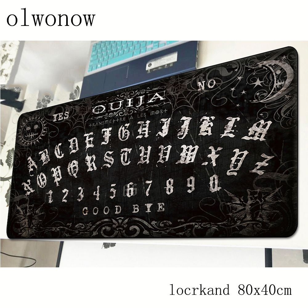 Ouija Board Mouse Pad 80x40cm Cheapest Mousepads Best Gaming Mousepad Gamer HD Print Personalized Mouse Pads Keyboard Pc Pad