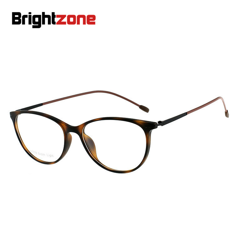 Brightzone Cats-eye TR90 Fashion Women Accessory Plano Or Prescription Clear Glasses Oculos Gafas De Lectura Occhiali Uomo