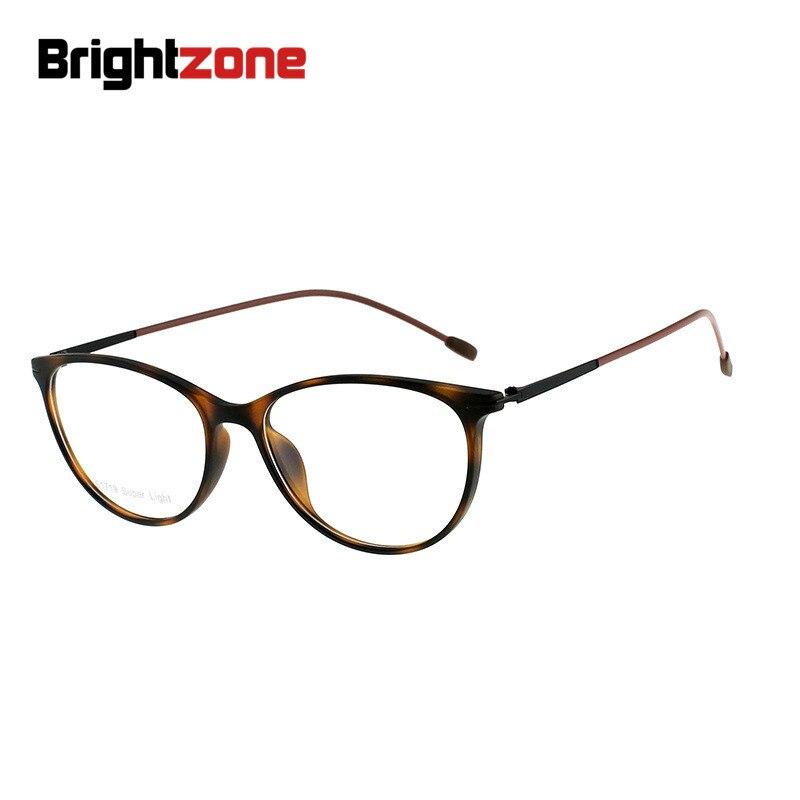 Brightzone Katzen-auge Tr90 Mode Frauen Zubehör Plano Oder Rezept Klare Gläser Oculos Gafas De Lectura Occhiali Uomo Feines Handwerk Herren-brillen Korrektionsbrillen