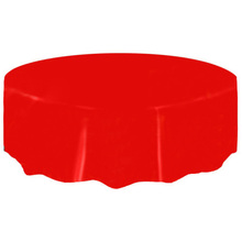 Satin Round Plastic Tablecloth Table Cover Table Cloth Wedding Party  Banquet(China)