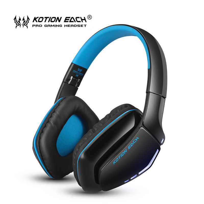 KOTION EACH B3506 Gaming Headset Wireless Bluetooth Headphone V4.1 Stereo Headphones Microphone Noise Isolation Headphone