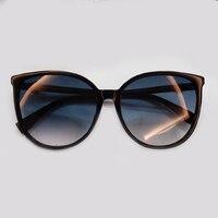 Brand Designer Cat Eye Sunglasses Women 2019 Acetate Frame Vintage Women Fashion Sun Glasses High Quality Oculos De Sol UV400