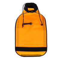 Water Sports Paddle Float Kayak Safety Floating Bag with Quick Release Buckle 27.95 x 15.16 inch Yellow