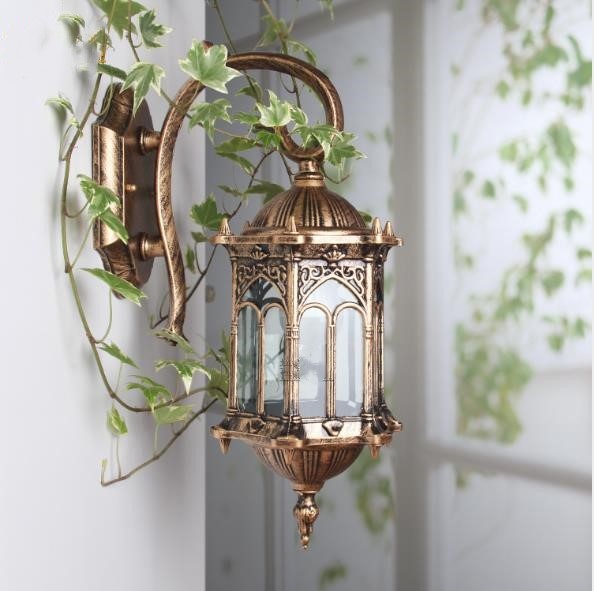 Petit artisanat mur extérieur lampe creative rétro LED IP20 10 w 20 w 35 w balcon cour d'éclairage éclairage routier mur lampe buitenlamp