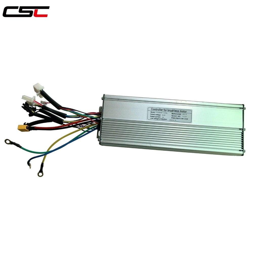Fast shipping 36//48V 1200W Brushless DC Sine Wave Ebike Controller Reg