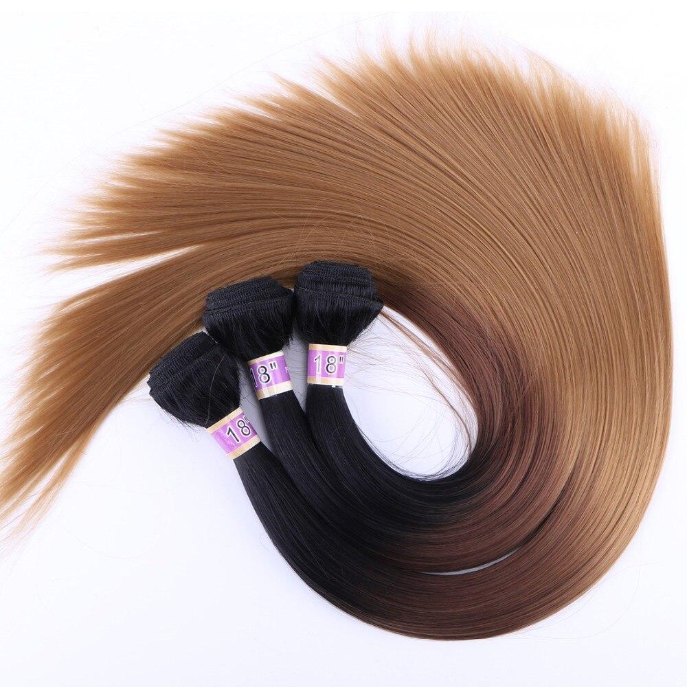 100 gram peça cabelo sintético três tom