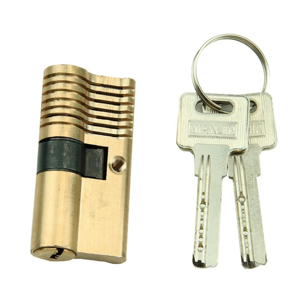 Visable Cutaway Practice 7 Pins Brass Lock for Locksmith Teaching Skill Training free shipping with transparent cutaway new type vw practice auto lock for training practice