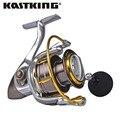 Kastking kodiak hilado carrete de agua salada carrete de aluminio 18 kg drag carrete de pesca en barco más grande con 11 rodamientos de bolas 5.2: 1 relación de engranajes