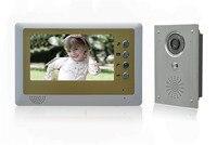 7 inch Color Monitor Hands-free Intercom Video Door Phone