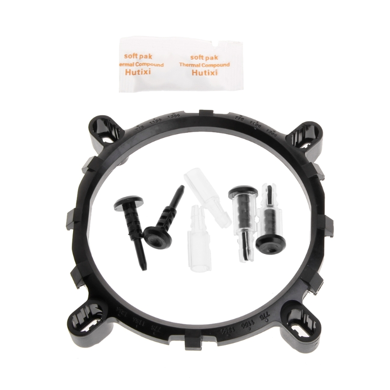 3 In1 CPU Bracket Thermal Cooler Fan Bracket Heatsink Holder Based For LGA1150 1156 1155 775 1366