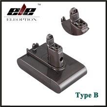 ELEOPTION Replacement Power Tool Battery Type B 22 2V 2 0Ah 2000mah Li ion for Dyson