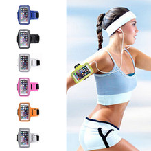 1Pcs Sports Running Yoga Gym Armband Arm Band Case Cover Holder For Mobile Phones(China)