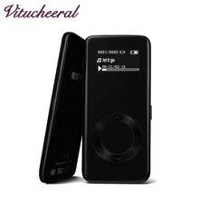 Más nuevo 2017 original benjie k3 8g mp3 reproductor de música sin pérdidas de alta fidelidad Aleación De sonido reproductor de MP3 Reproductor de Audio MP3 FM de Radio Portátil de Mp3