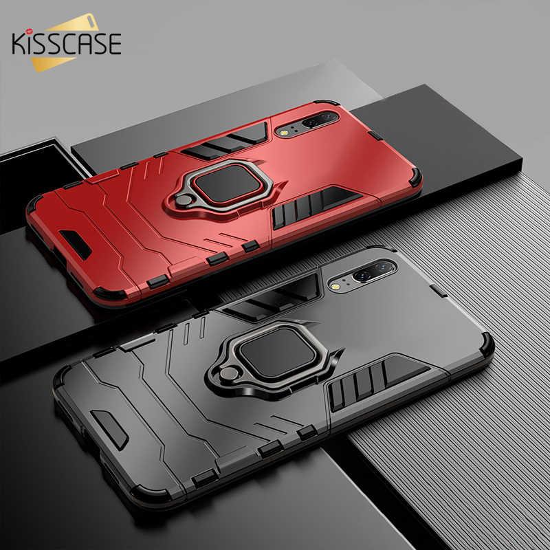 Caso À Prova de Choque Para Samsung Galaxy A50 BEIJOS A30 A20 M30 M20 Case Para Samsung A9 A7 A8 J6 Plus Plus 2018 Titular Anel de Dedo