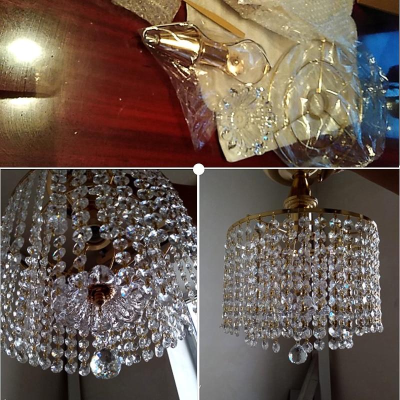 HTB1kaOeUZfpK1RjSZFOq6y6nFXad Modern LED Chandeliers | Modern Ceiling Lights | Modern retro plated crystal lustre Ceiling Lights E27 Plafonnier LED ceiling Lamp Luminaire For Living Room bedroom hotel hall