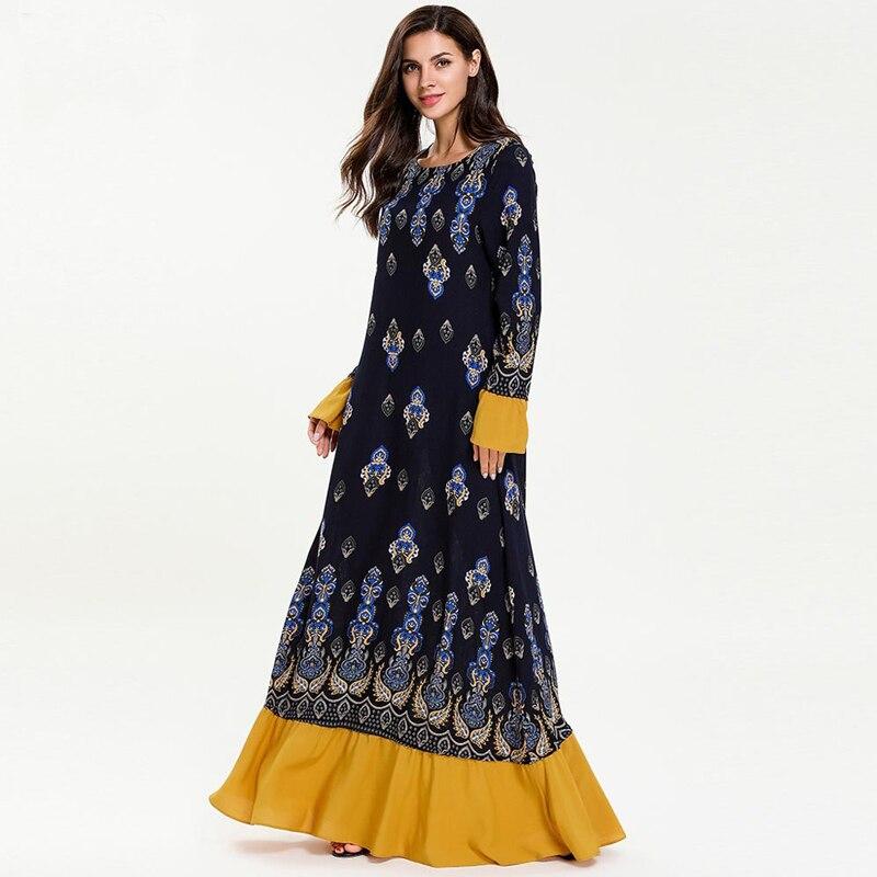 Robe Femme Musulmane Vestidos Arabes Elegantes Abaya Kaftan Dubai Islamische Kaftan Kleid Frauen Elbise Sukienki Ramadan Eid Kleider Kataloge Werden Auf Anfrage Verschickt Islamische Kleidung